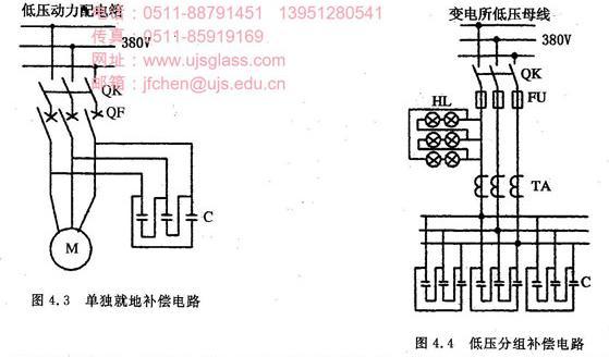 高压集中补偿中的电容器组是利用高压母线上电压互感